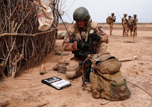 Un soldat français lors de l'opération Barkhane au Mali