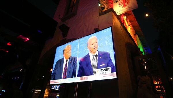 Débat entre Donald Trump et Joe Biden - Sputnik France