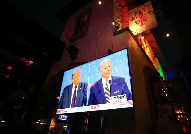 Débat entre Donald Trump et Joe Biden