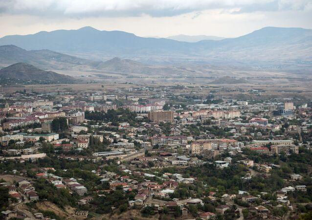 Stepanakert, capitale de la république autoproclamée du Haut-Karabakh