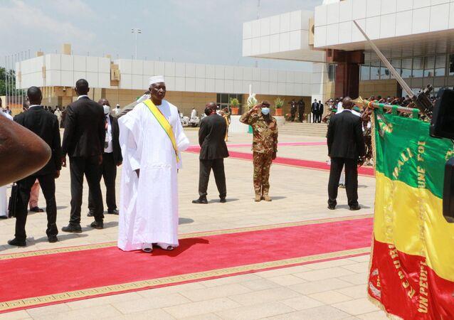 Investiture du Président de la transition, Bah N'Daw, le 25 septembre 2020, à Bamako