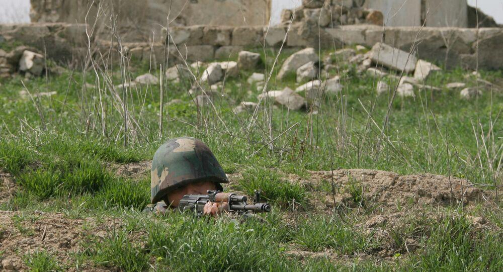 Un soldat de la république autoproclamée du Haut-Karabakh (archive photo)