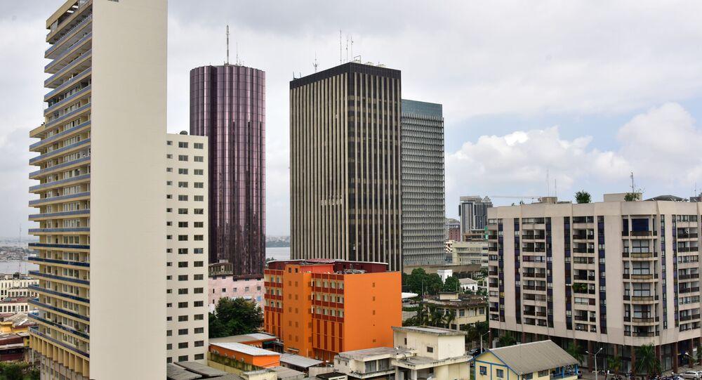 Le Plateau, le quartier des affaires d'Abidjan
