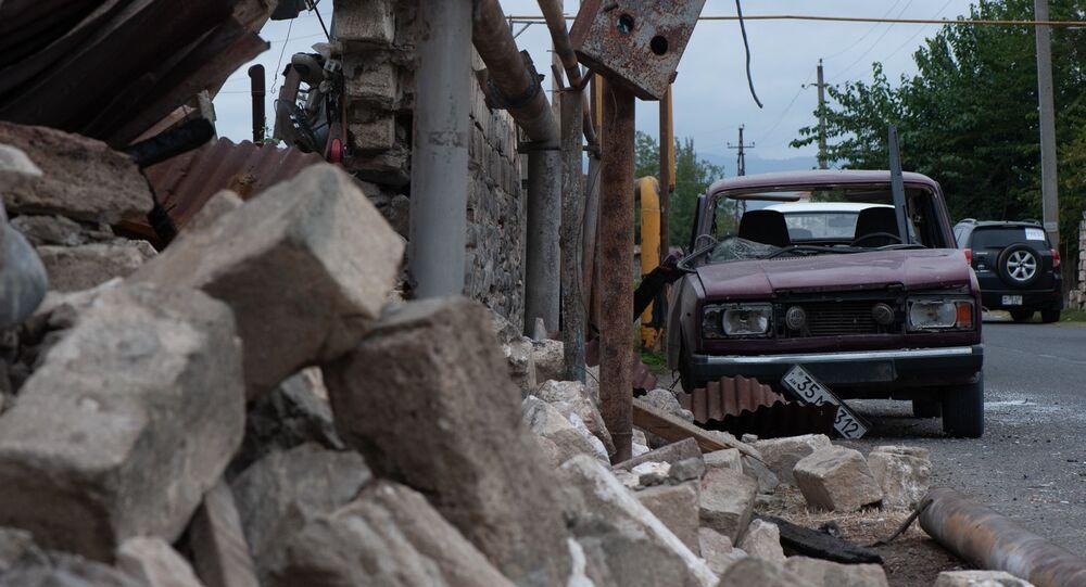 Dans une localité du Haut-Karabakh