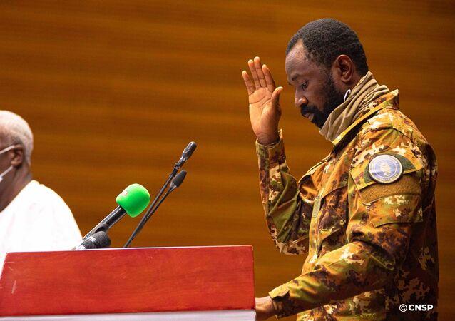 Le vice-Président de la transition du gouvernement malien, Assimi Goïta