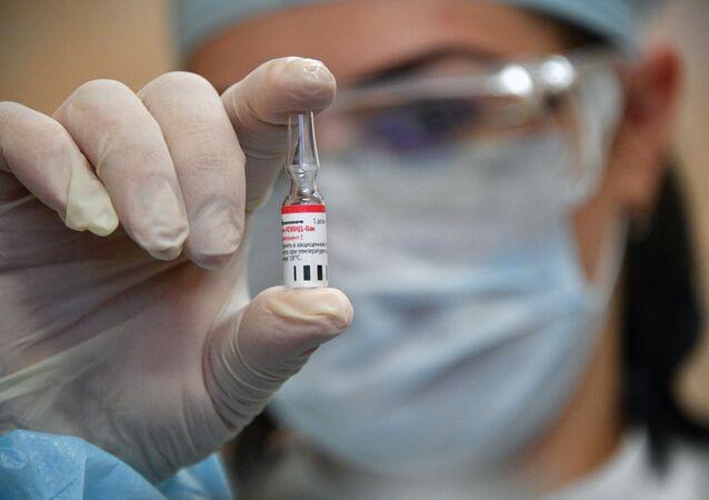 Vaccin Spoutnik V testé en Biélorussie (archive photo)