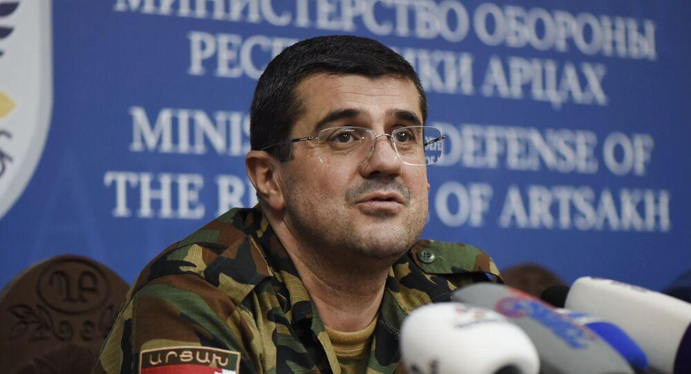 Le dirigeant du Haut-Karabakh Araïk Haroutiounian