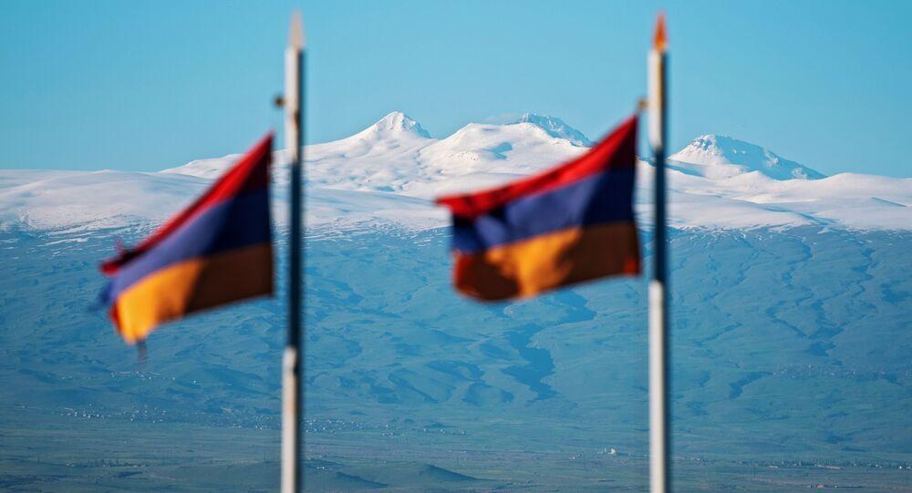 Drapeaux de l'Arménie