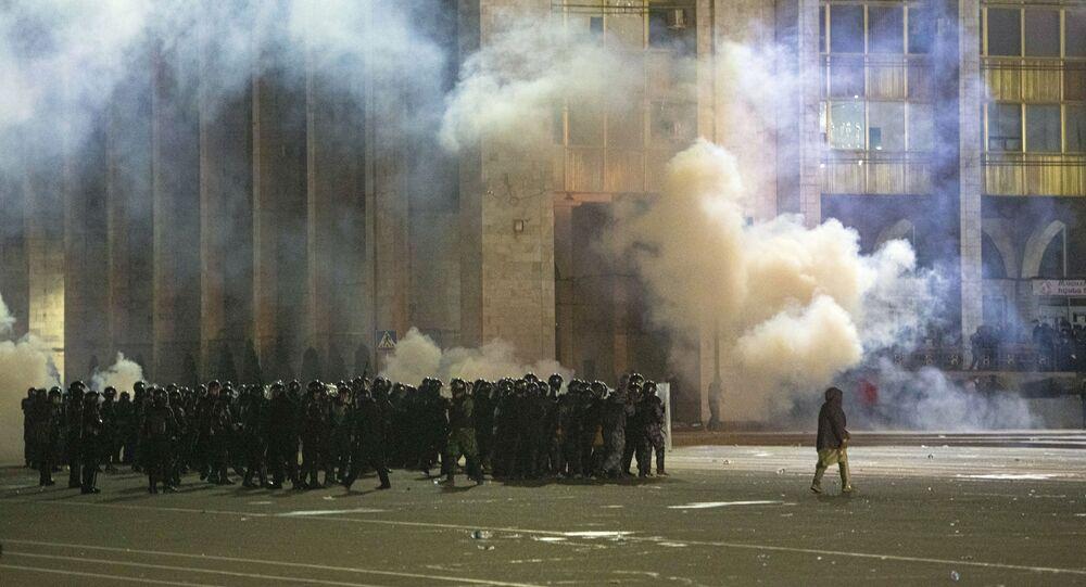 tensions dans la capitale du Kirghizistan