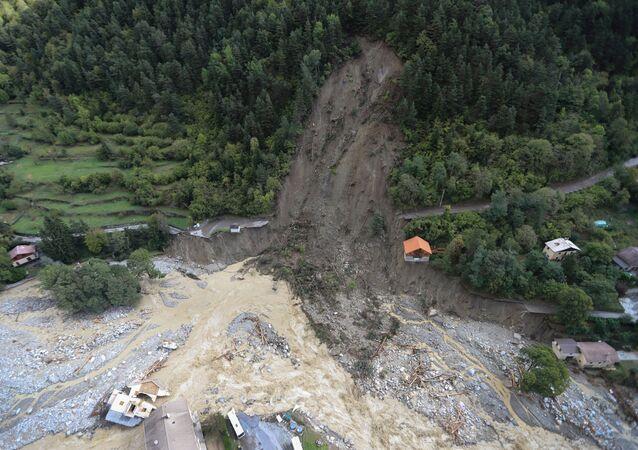 Conséquences de l'inondation en France