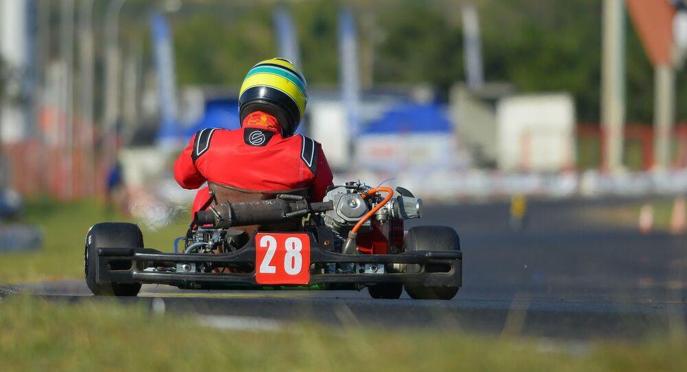 Karting (image d'illustration)