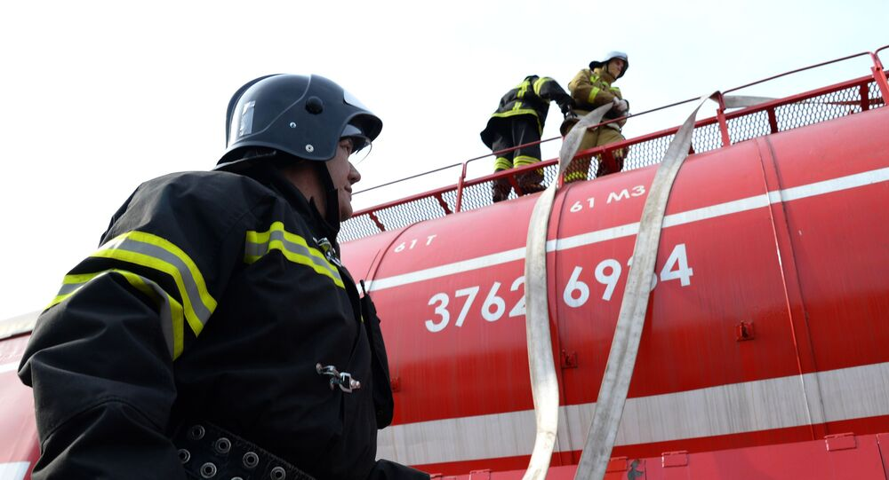 Un train anti-incendie russe (archive photo)
