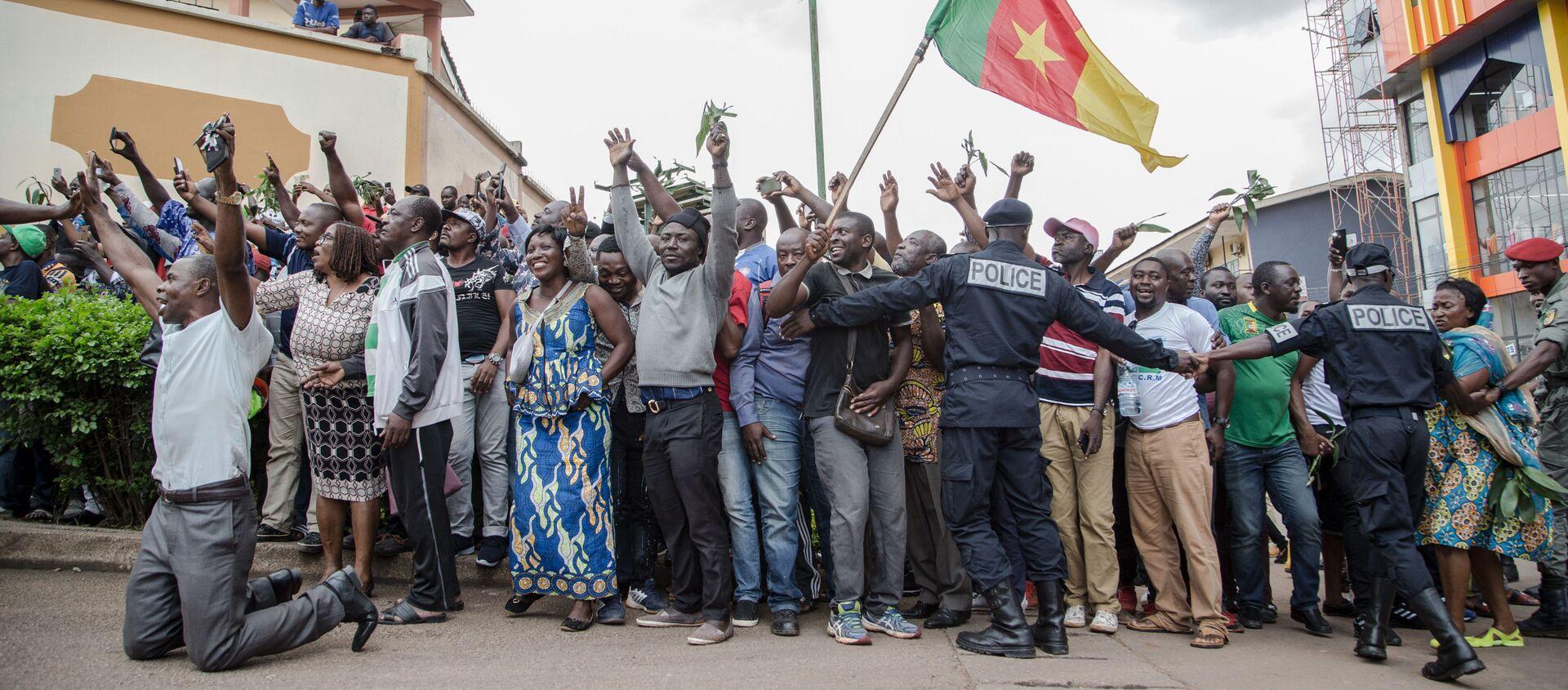 Des partisans de Maurice Kamto dans la rue, Cameroun - Sputnik France, 1920, 08.10.2020