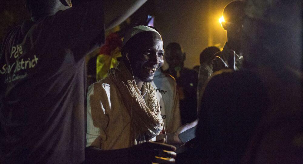 Les maliens fêtent la libération de Soumaïla Cisse