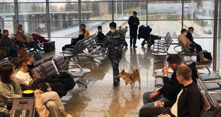 Un Chalaïka à l'aéroport Cheremetievo de Moscou