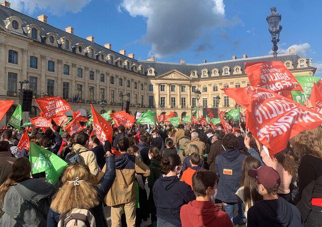 Nouvelle mobilisation contre le projet de loi de bioéthique à Paris, le 10 octobre 2020