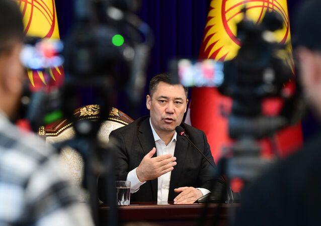 nouveau Premier ministre Sadyr Jarapov