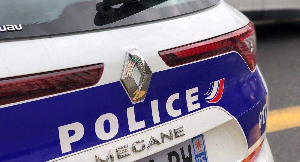 Une voiture de police, image d'illustration