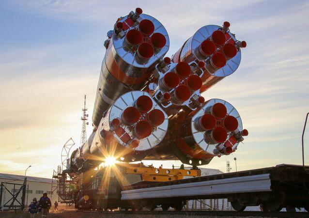Le vaisseau spatial Soyouz MS-17