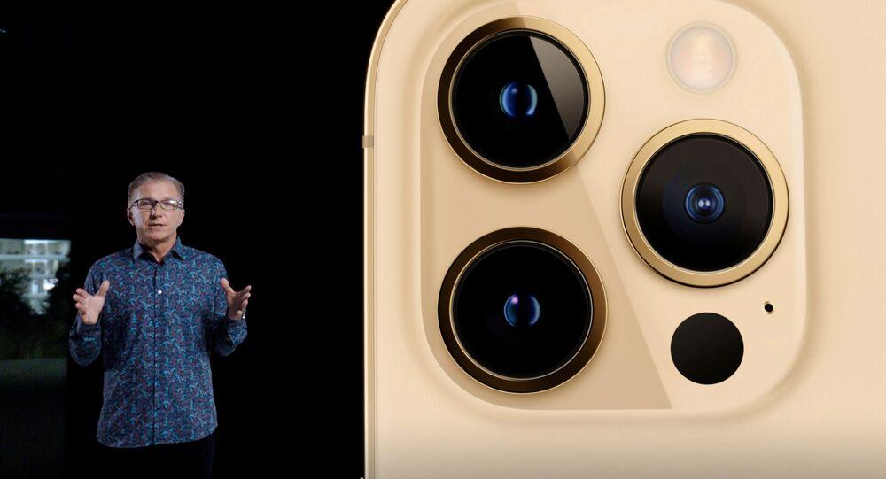 Présentation de l'iPhone 12 Pro en Californie