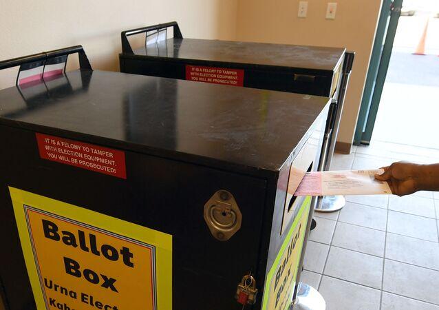 Des boîtes officielle de dépôt de vote (image d'illustration)
