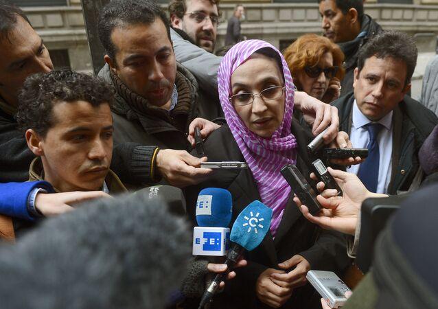 La militante pacifiste Aminatou Haïdar