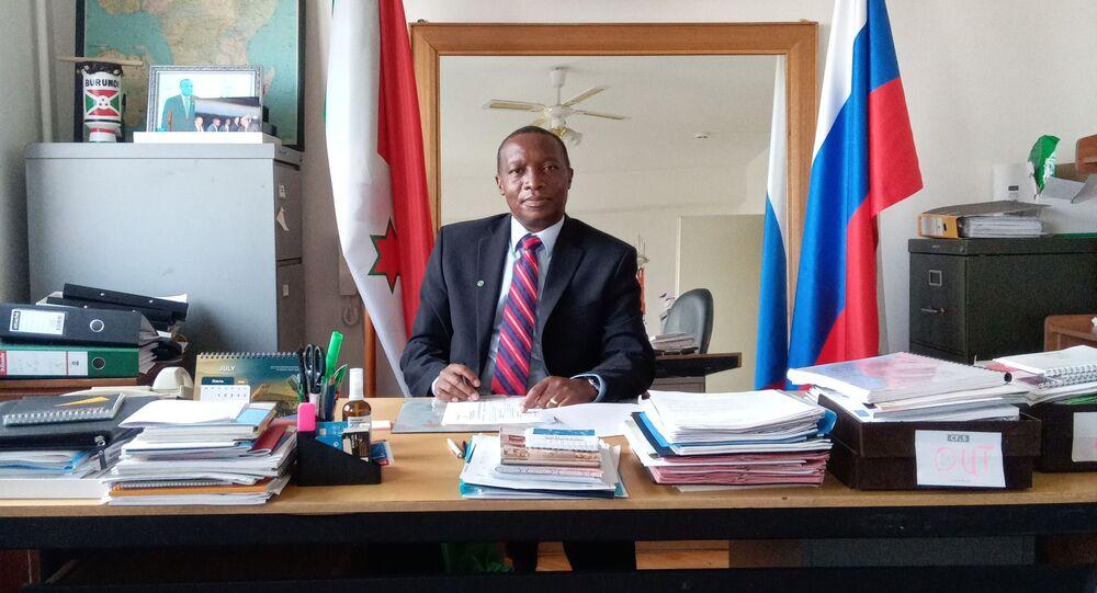 Édouard Bizimana, ambassadeur du Burundi à Moscou