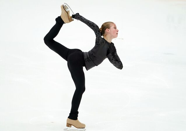 Alexandra Trusova (archive photo)