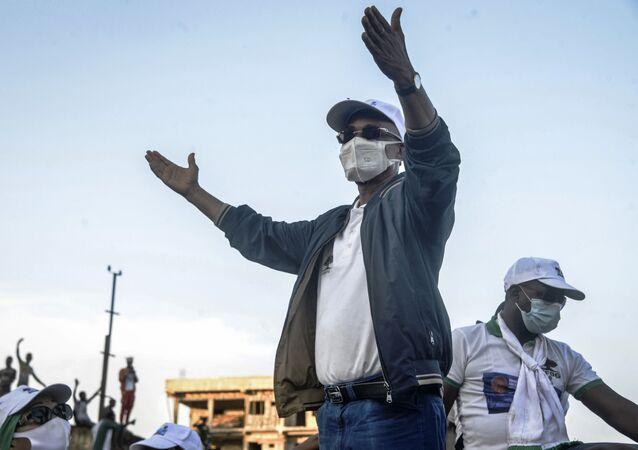 Le candidat de l'opposition guinéenne Cellou Dalein Diallo