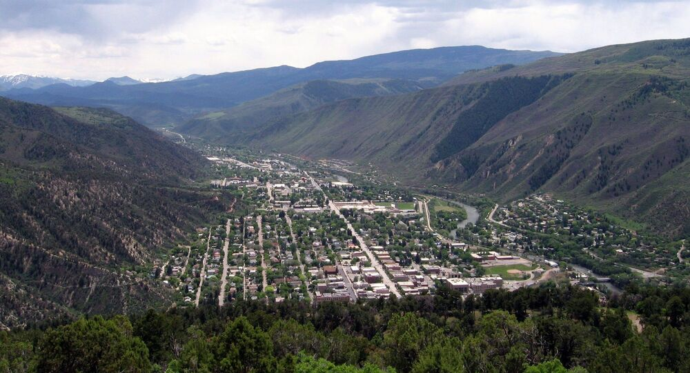 Glenwood Springs dans le Colorado