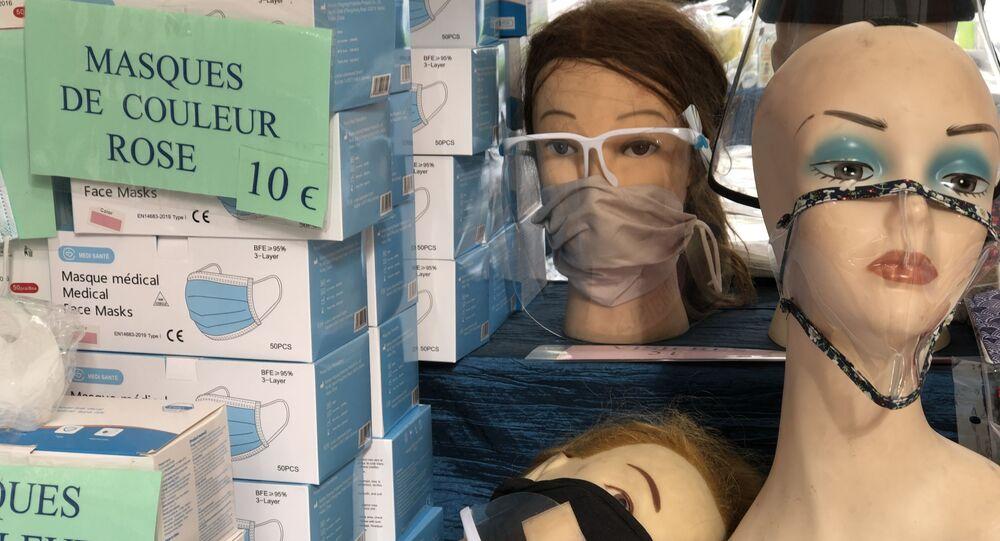 Vente de masques