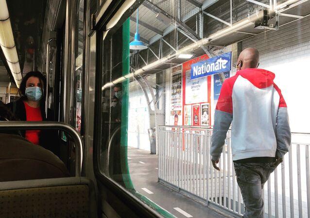 Masque obligatoire dans les transports publics en France