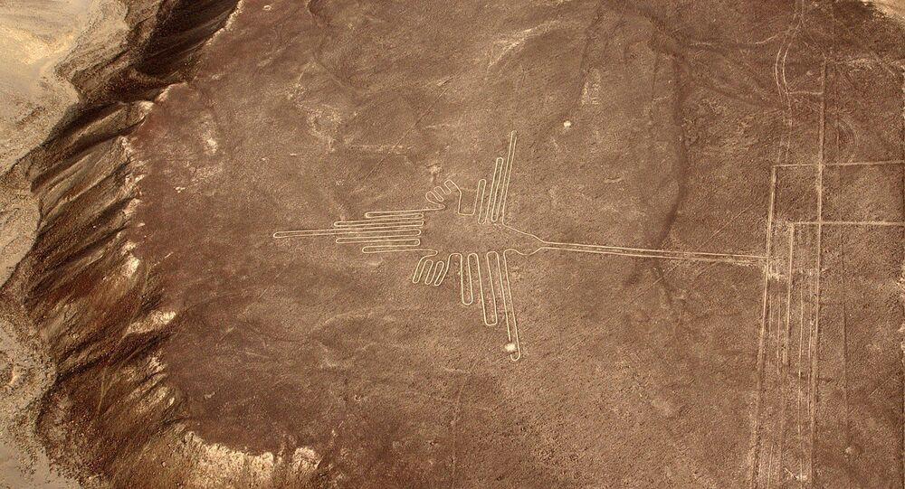 Images: Le désert de Nazca livre un nouveau géoglyphe d'une civilisation éteinte