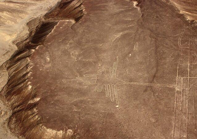 un géoglyphe de Nazca