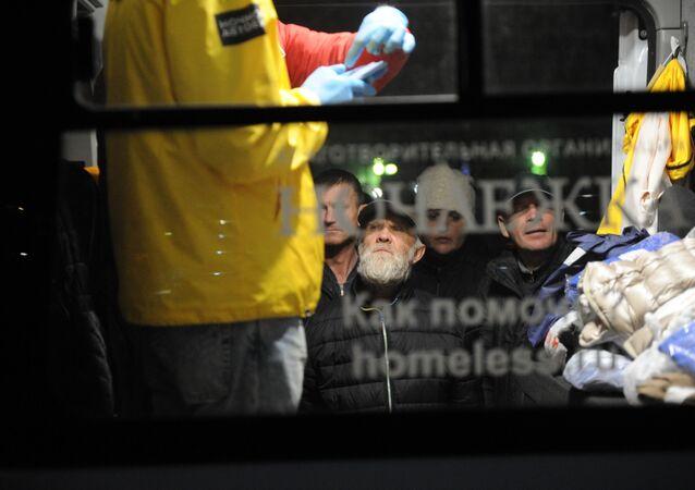 Le Bus de nuit de Nochlezhka