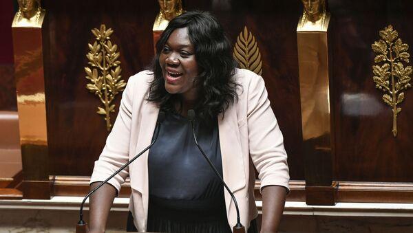 La députée Laetitia Avia, à l'Assemblée nationale - Sputnik France