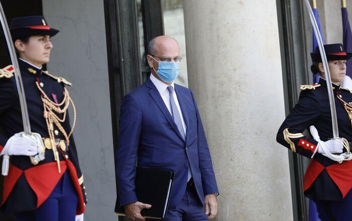 Le ministre de l'Éducation nationale, de la Jeunesse et des Sports, Jean-Michel Blanquer