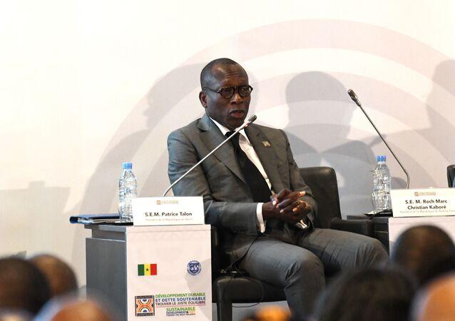 Le président béninois Patrice Talon
