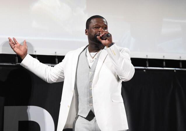 Le rappeur 50 Cent
