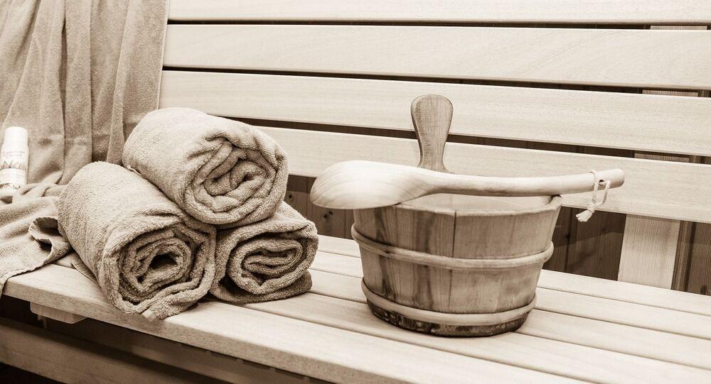 Un sauna (image d'illustration)