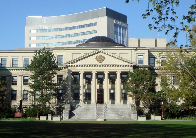 Université d'Ottawa (Canada), image d'illustration