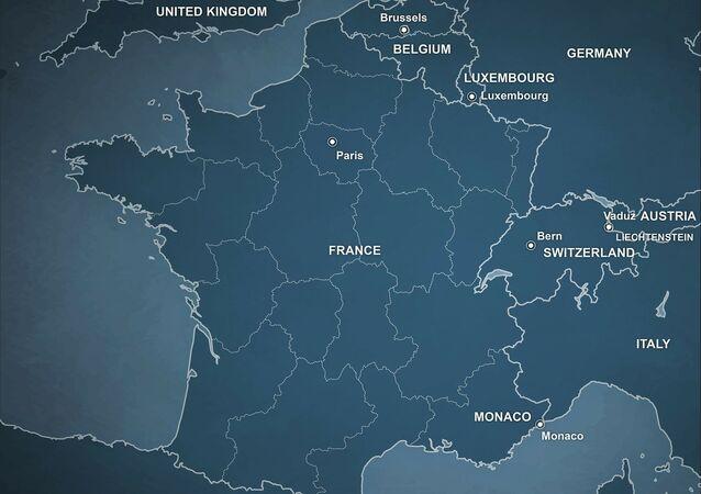 Une carte de France