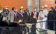 La mosquée de Drancy organise une prière en hommage à Samuel Paty, 23 octobre 2020