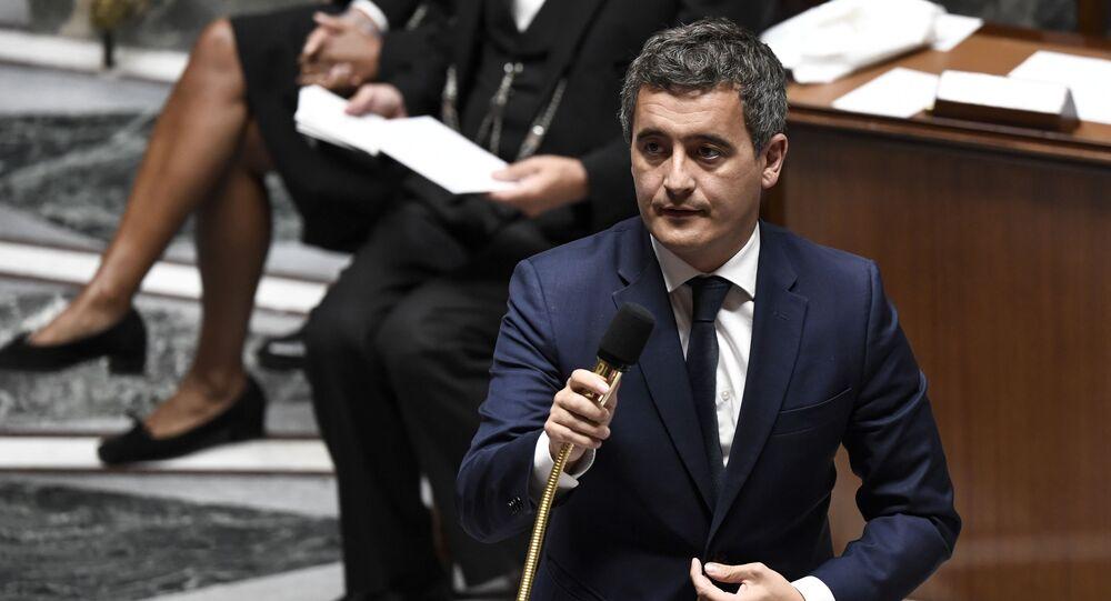 Gérald Darmanin, Ministre de l'Intérieur de France