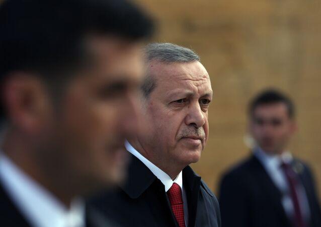 Le Président Recep Tayyip Erdogan