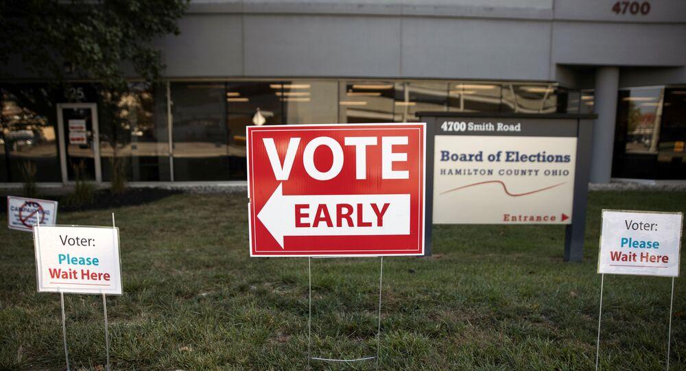Le vote anticipé pour la présidentielle du 3 novembre aux États-Unis (octobre 2020)