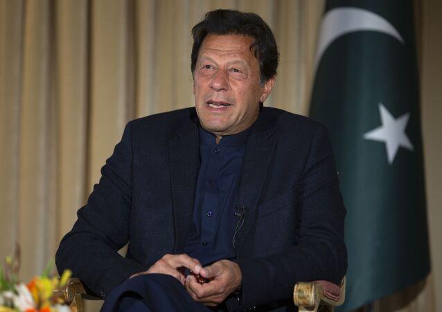 Le Premier ministre pakistanais Imran Khan