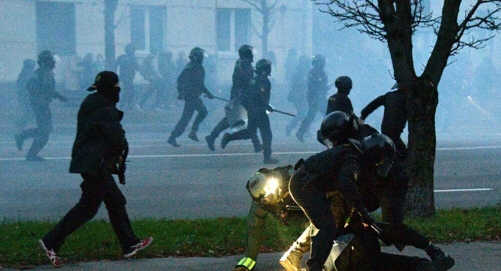 Protestations en Biélorussie