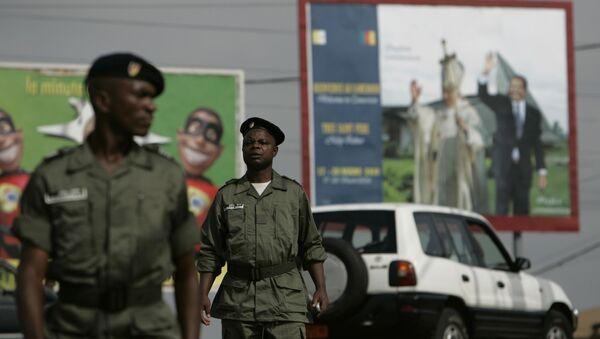 Des policiers au Cameroun - Sputnik France