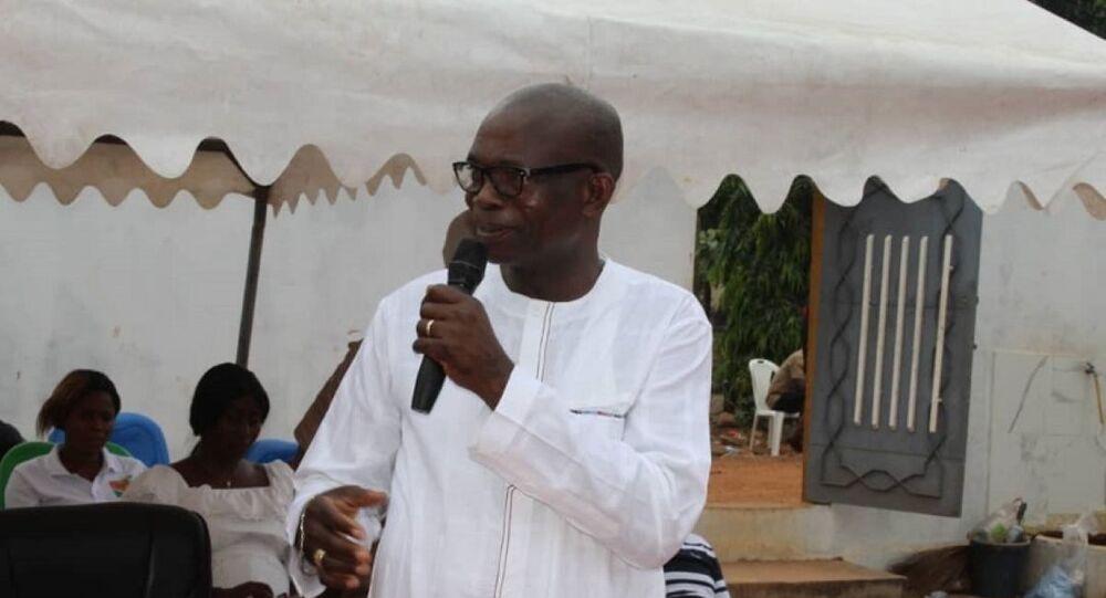 Koffi N'Guessan Lataille, directeur régional de campagne du candidat Alassane Ouattara
